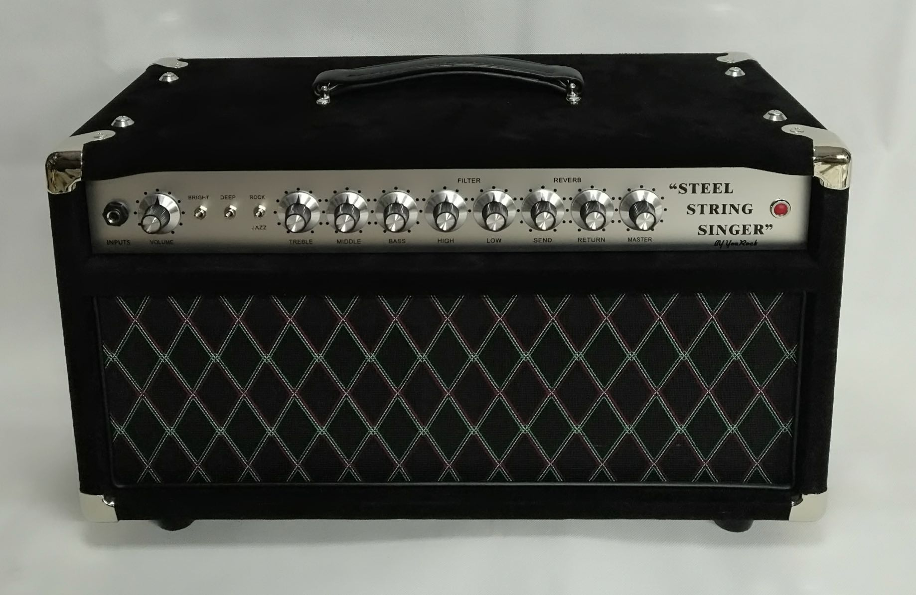 Deluxe Handwired Dumble Steel String Singer SSS Guitar Amplifier 50W