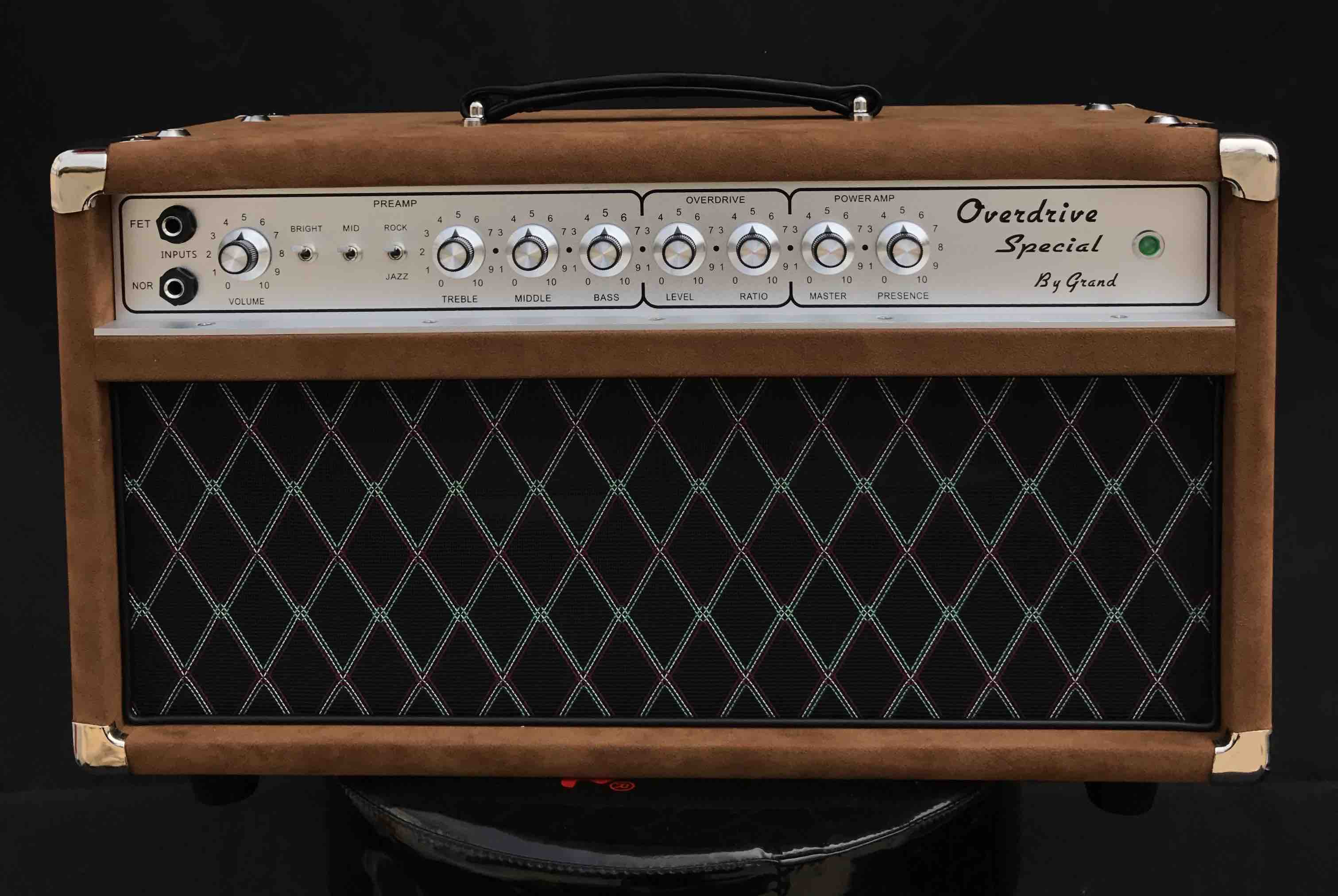 Overdrive Special by Grand ODS50 Handwired Guitar Amplifier Custom Guitar Amp Dumble Amp Tone OEM is Welcome