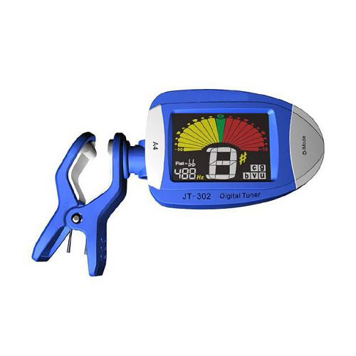 Clip-on Tuner with Color Display
