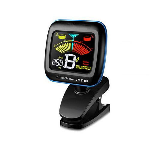 Clip-on Tuner/Metronome with Color Display