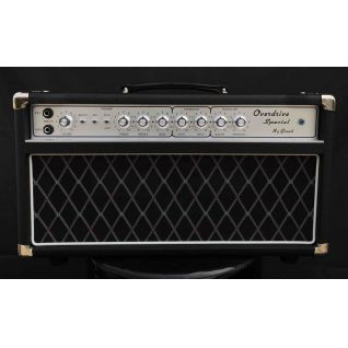 Grand Dumble Boutique Hand-wired Overdrive Special ODS50 Amp Head 50W in Black Custom Faceplate is Available